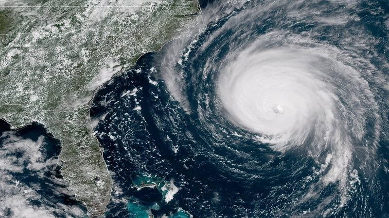 Hurricane Florence and TS Michael